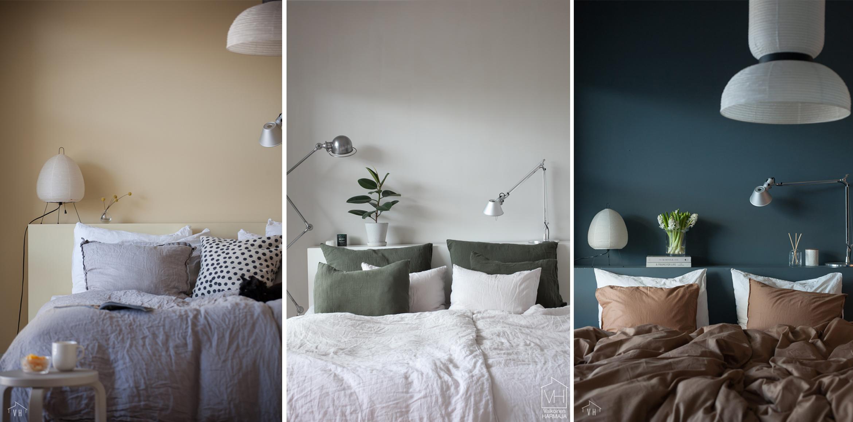 Makuuhuoneen seinävärit