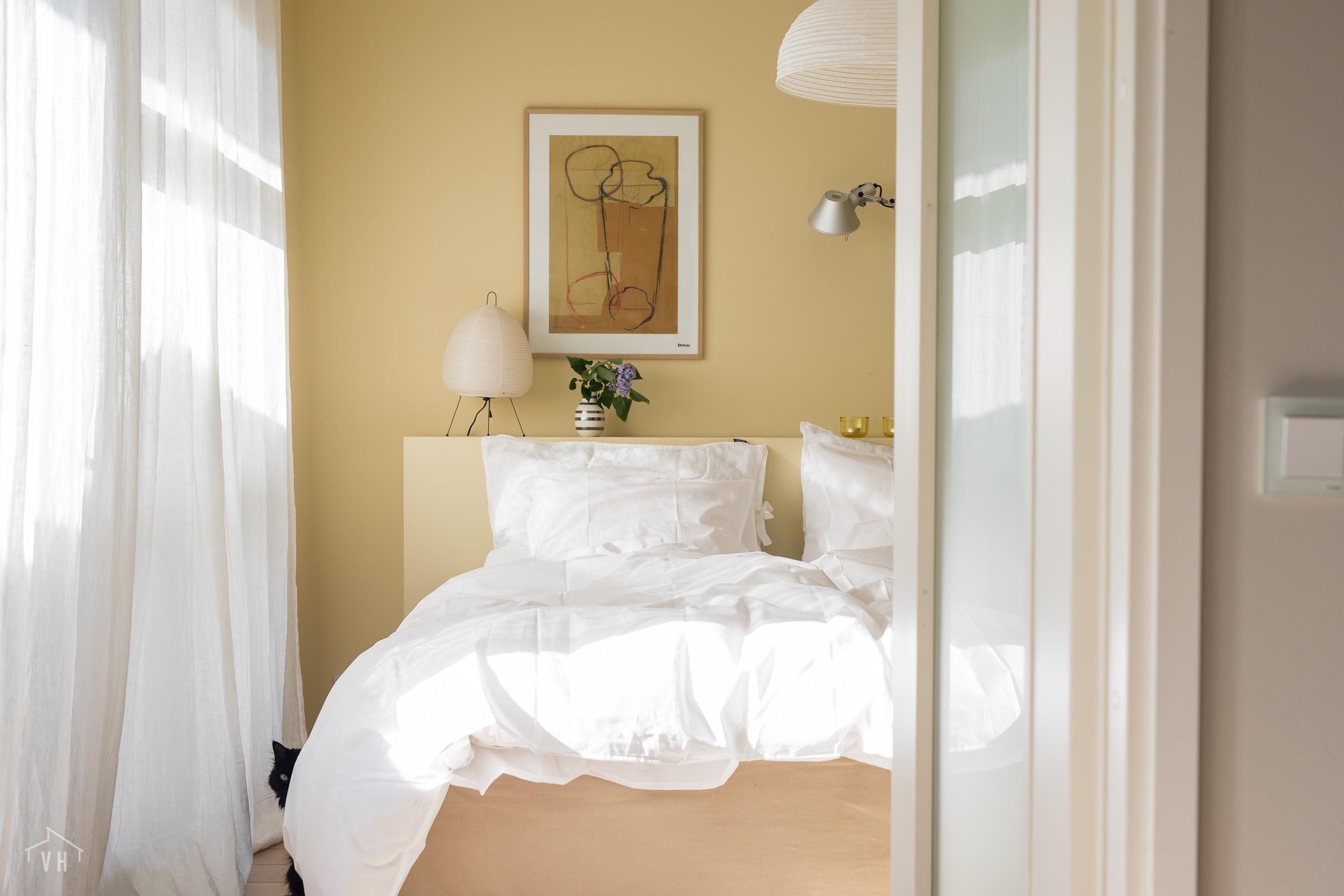 Kesäinen makuuhuone