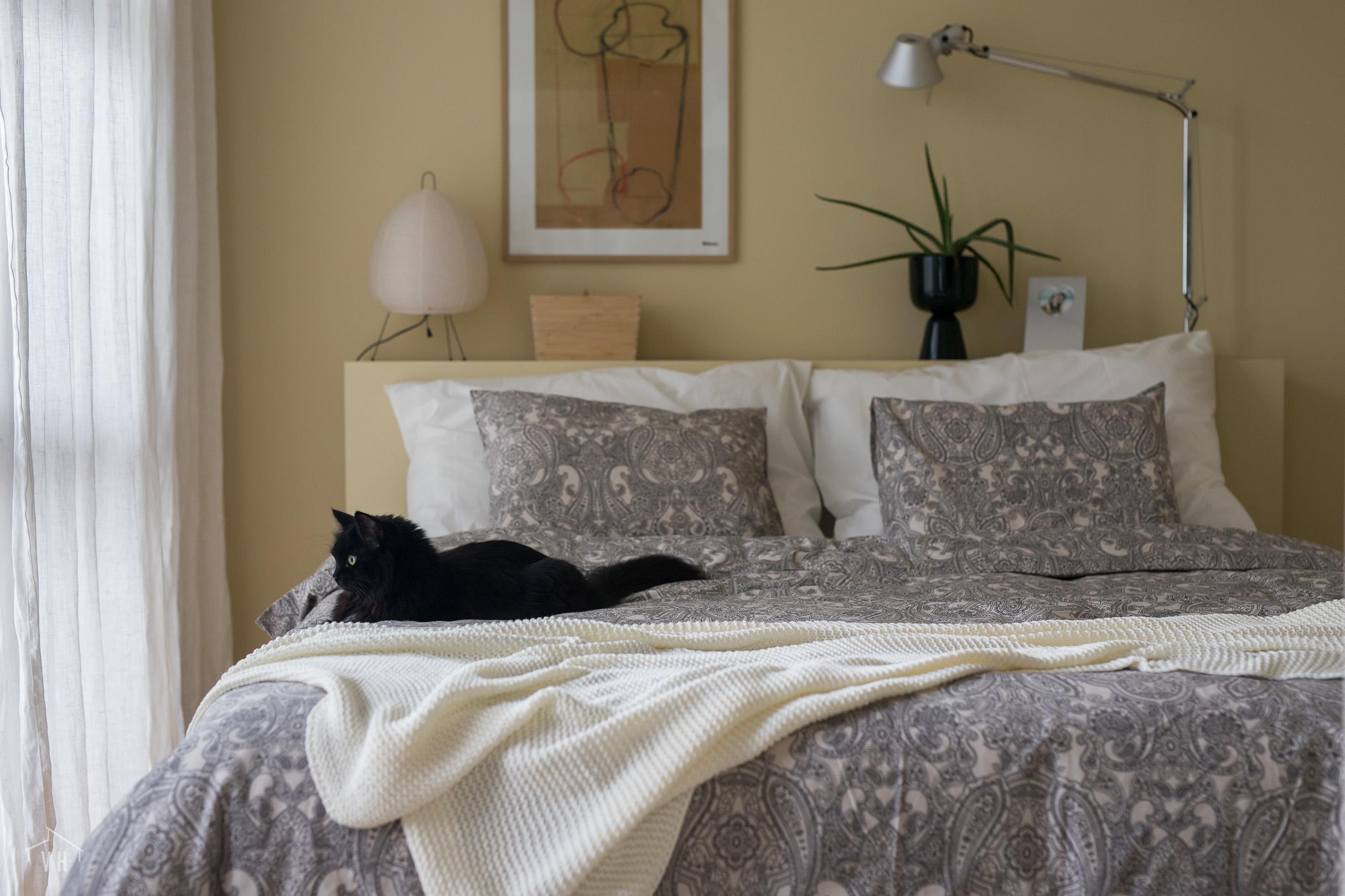 Makuuhuone tasapainoista arkea tukemassa