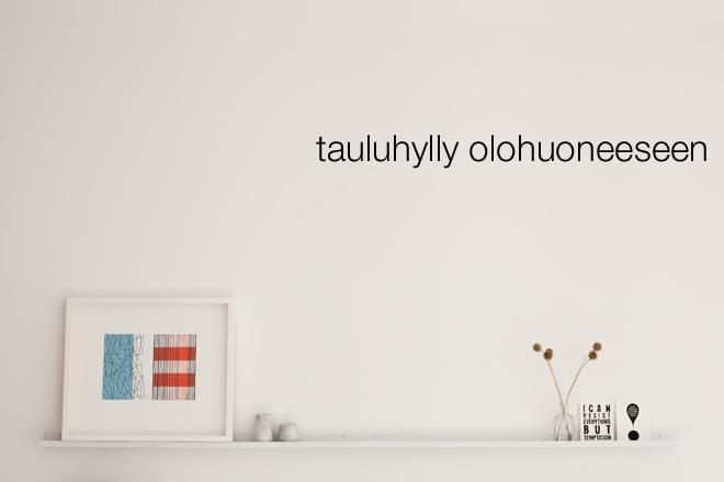 tauluhylly