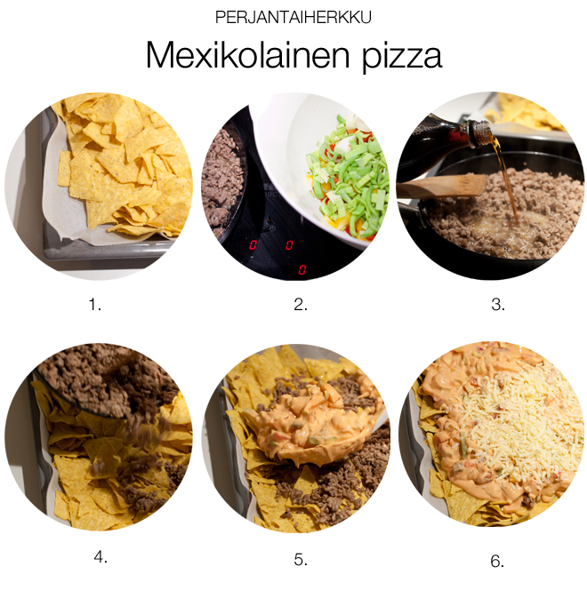 mexikolainenpizza_vaiheet