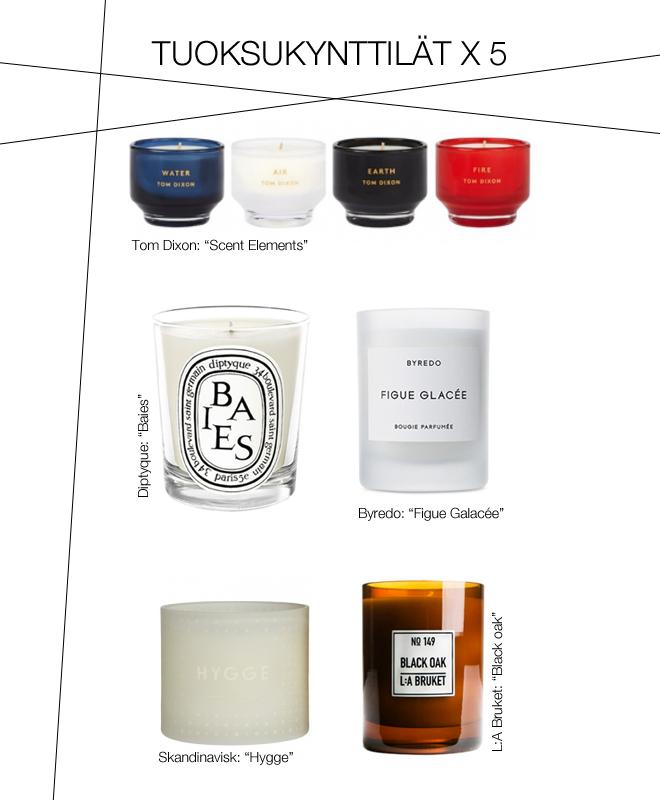 tuoksukynttilat