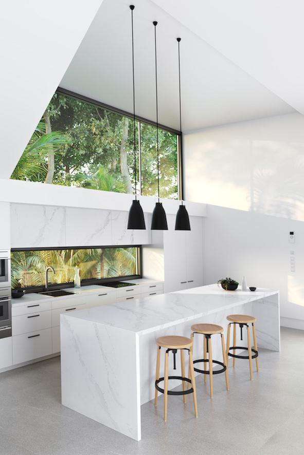 Silestone® Eternal Calacatta Gold _ Kitchen